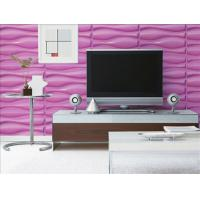Cheap Durable Wall Panel Natural Fiber Wallpaper Brick Wood Texture and Big Wave for for sale