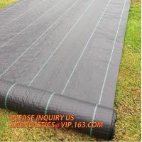 Quality 100% pp non woven perforated fabric weed control mat weed barrier anti weed mat,100% pp cover fabric weed control mat we wholesale