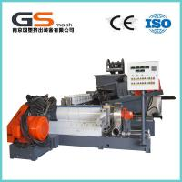 Quality Single / Double Screw Plastic Pellet Making Machine For PVC Cable / Wire Materials wholesale