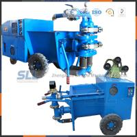 China Ready Mixed Cement Mortar Pump , Gravel Coarse Aggregate Mortar Mixer Pump on sale