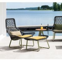 China Modern PE rattan chair Outdoor Garden furniture sets patio wicker chairs on sale