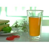 Quality Tableware Double Wall Borosilicate Glass Drinking Ware Microwave Safe wholesale