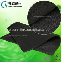 Quality activated carbon filter media roll wholesale