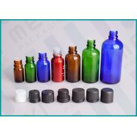 Quality Color Coated Glass Bottles With Screw Cap And Orifice Reducer For Essential Oil wholesale