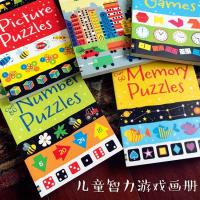 Quality Full Color Soft Cover Children'S Books Printing Game Puzzle A4 School Spot UV Coating wholesale