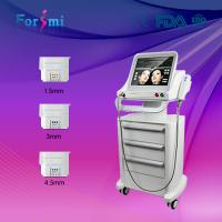 Quality 2016 hifu facial best wrinkle removal skin tightening face lift non invasive machine wholesale