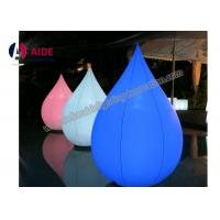 Quality OEM Customized Nylon Inflatable Event Decoration Circle Cone With Blower wholesale