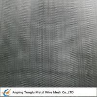 Quality Titanium Wire Mesh Cloth|Plain or Twill Weave 1~400mesh by TA1 wholesale