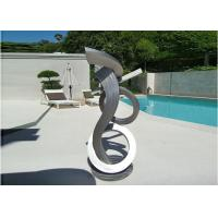 Quality Brushed Craft Stainless Steel Sculpture Art Home Decoration Swimming Pool Garden wholesale