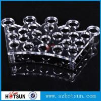 Quality Factory directly acrylic shot glass tray,most popular product clear acrylic shot glass tray ,acrylic serving tray wholesale
