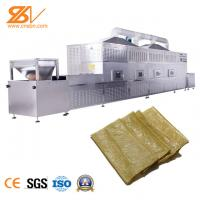 Quality Tunnel Type Industrial Microwave Dryer Bean Products Cocoa Drying Machine wholesale