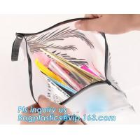China Heat Welding PE Plastic Envelope Bag With Slider Zipper Top, Polythene Plastic Slider Ziplock Bag For Garment Packing on sale
