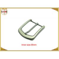 Cheap Pearl Nickel Brushed 1.5 Inch Metal Belt Buckle Perfect Design Die Casting Plating for sale