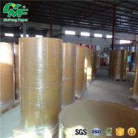 China Smooth Surface 60 Grams Kraft Paper Jumbo Roll LONG Years Image Life High Tightness on sale