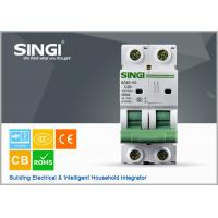 Quality PV system 1P 6a 24v DIN Rail DC MCB Solar system circuit breaker waterproof electrical circuit breaker box wholesale