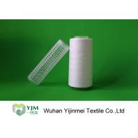 Quality Raw White Polyester Sewing Thread yarn , 30/2 High Twist Yarn AAA Grade Virgin Bright wholesale