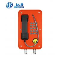 Quality Vandal Resistant Industrial Explosion Proof Telephone For Zone 1 / Zone 2 wholesale