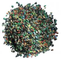 Quality Skid Proof Artificial Grass Rubber Granules Multi Colors For Training Places wholesale