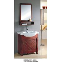 Quality Classical Feature Solid Wood Bathroom Cabinet shaker style 0.4 Vanity Size wholesale