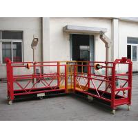 Quality 90 Degree Red Steel Rope Suspended Platform Cardle for Building Cleaning wholesale