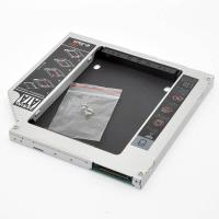 China Laptop 9.5mm IDE-SATA Universal second hard disk drive caddy on sale
