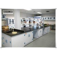Buy cheap PP Chemical Lab Furniture With Two Layers Reagent Rack In Laboratory from wholesalers