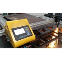 Buy cheap CNC Portable Flame Cutting Machine , Light Pole Machine to Cut Light Pole Base from wholesalers