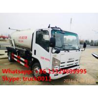 Quality 2019s new best price ISUZU vacuum truck for sale, ISUZU sewage suction truck for sale, sludge tank truck for sale wholesale