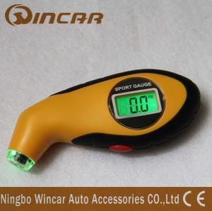 Cheap 12V 150psi Pressure Digital Tire Pressure Guage Precision With Customized Logo for sale