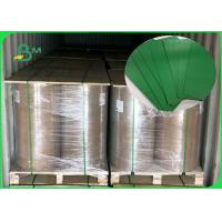 China FSC Accredited 1.2MM Green Board Great Stiffiness Rolls Packing For Making Box on sale