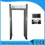 Quality 6 Zone Security Walk Through Gate , UB500 Body Scanner Metal Detector OEM wholesale