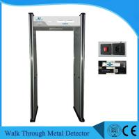 Quality 6 Zone Security Walk Through Gate , UB500 Body Scanner Metal Detector OEM wholesale