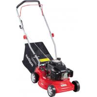 Quality Red Self Propelled Petrol Lawn Mower / Small Petrol Mower 6 Inch Wheel wholesale