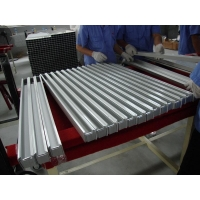 China Silver Anodized Solar Panel Support Frame Customization Solar Module Frame on sale
