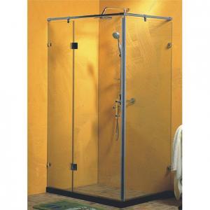 Quality toughen glass framed shower enclosure , corner shower cubicles 90 x 90 X 200 / cm wholesale