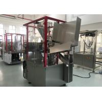 China Eco Friendly Automatic Tube Filling Machine 60 Pieces / Min Hot Gun Heating System on sale