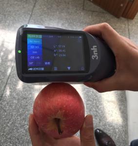 Quality Laboratory food apple colorimeter orange juice liquid spectrophotometer YS3060 compare to Xrite CI64 UV spectrophotomet wholesale