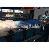 Quality 380V 50Hz Roof Roll Forming Machine , Corrugated Metal Deck Roof Tile Making Machine wholesale
