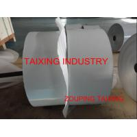 China white lacquer with lubricated  aluminium foil for airline tray on sale