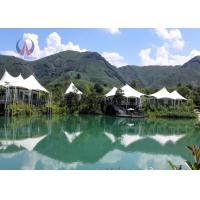 Buy cheap Fantastic Light Luxury Tent Hotel Prefabricated Building Rock Wool Insulation product