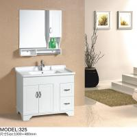 Quality Floor mounted Traditional Bathroom Vanities with sink 100X 48 X 85 / cm wholesale