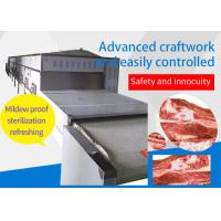 Quality Continuously Type Meat Microwave Thawing Equipment Eco - Friendly Easy Operate wholesale
