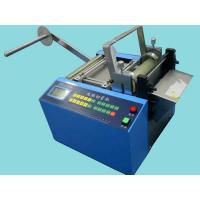 China Automatic Plastic Package Poly Tubing Cutting Machine , Cutter For Poly Tubing on sale