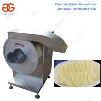 Quality Commercial Potato Chips Slicer|Electric Potato Chip Slicing Machine|Automatic Potato Chips Cutting Machine wholesale