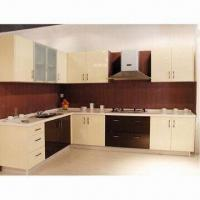 Cheap glossy kitchen cabinet made of particle board or for Cheap kitchen carcass
