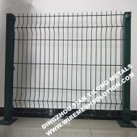 Quality PVC Coated Cheap Curved Sheet Metal Wire Mesh Fencing for Residential wholesale