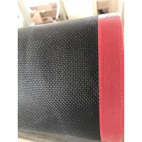 Quality TEFLON COATED OPEN MESH CONVEYOR BELT for Separating sheet for hardboard production  1*1 wholesale