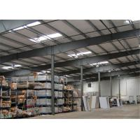 Quality Earthquake Proof Steel Structure Workshop With Insulation Color Steel Sheet wholesale