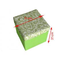Quality Square cube large capacity folding storage box bag with a moving cover wholesale