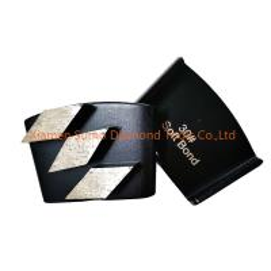 Quality Black HTC Diamond Tooling Three Hexagon Segment Soft / Medium / Hard Bond wholesale